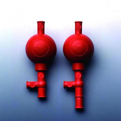 Veiligheidspipetteerballon standaard/veelkleurig, NR (17000091)