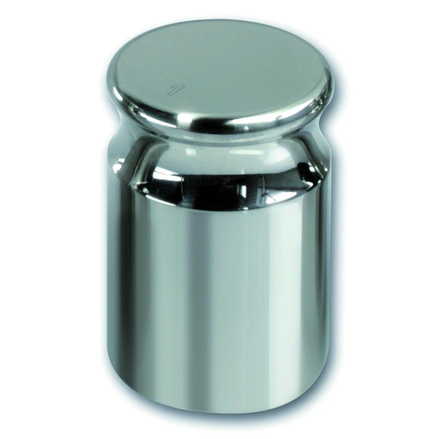 Kalibratie gewicht 1000 g, F1 RVS, cylindrisch (04116618)