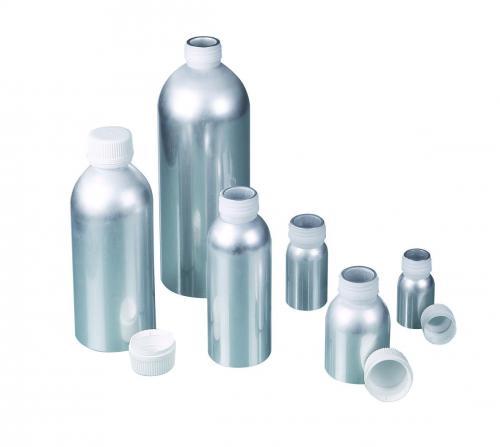 Aluminiumflessen, met UN-keur 60 ml