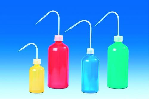 Spuitflesset, 500 ml, LDPE blauw, geel, rood, groen  (33127111)