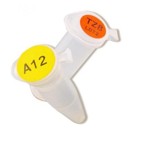 Etiket voor op Buisjesstop Combo B499 25,4X12,7MM (LLG6224521)