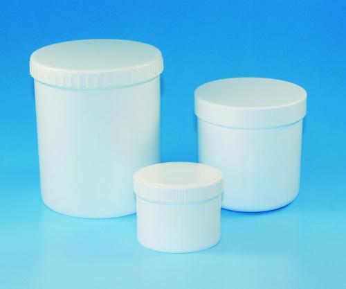 Pot 600 ml, PP, met deksel, Ø 119 mm, h=67,00 mm (LLG9402321)