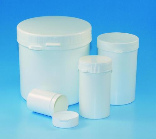 Pot 250 ml, PS, LDPE deksel garantiesluiting, h= 95 mm (41402356)