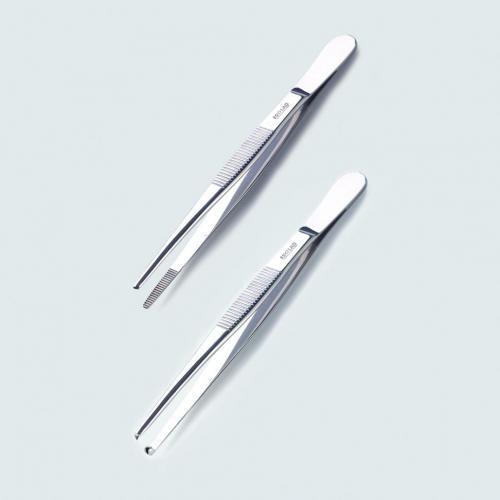 Pincet 130 mm, RVS 18/10 recht, stomp (LLG4008473)