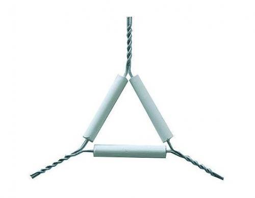 Driehoek met pijpesteelbuisjes beenlengte 50 mm (LLG9033741)