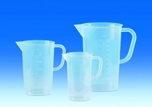 Maatkan 2000 ml, PP, 215 mm Ø 150 mm, zeer transparant (LLG7008973)