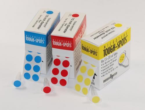Etiketten Tough-Tags, 13 mm wit (33890041)