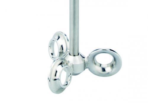 Roersysteem BuddeMix 2 lengte 350 mm, as 10 mm, kop Ø (LLG9779332)