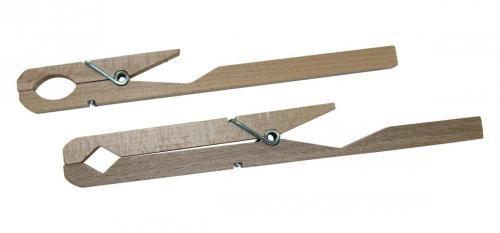 Reageerbuishouder tot 20mm hout met metalen veer (LLG9193749)